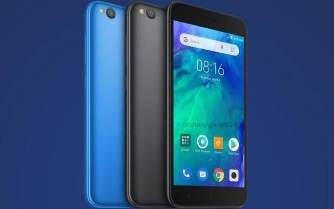 O Redmi Go é um dos modelos de smartphone da Xiaomi que estão disponíveis nas lojas online pelo valor de 799 reais