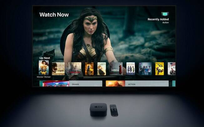 Apple TV ganhou suporte para 4K e HDR em vídeos em serviços como iTunes, Netflix e Amazon Prime Video