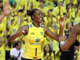 Fabiana será a capitã da seleção brasileira no Grand Prix pela quinta vez
