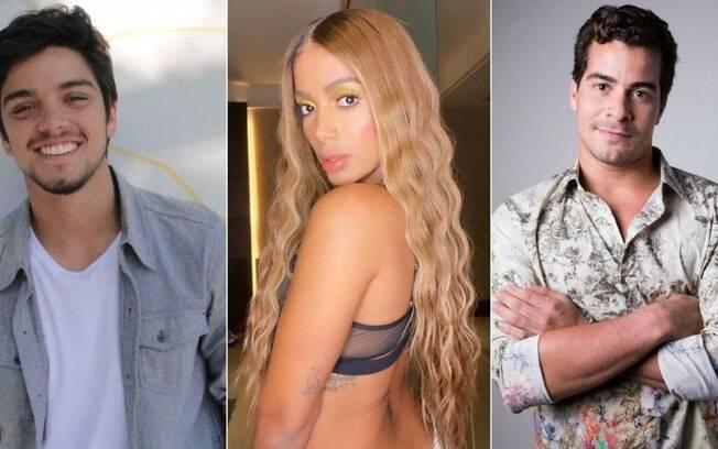 Rodrigo Simas, Anitta e Thiago Martins