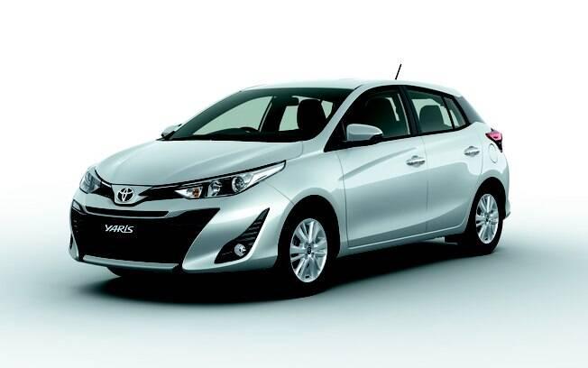 Toyota Yaris: versão renovada do hatch terá VW Polo, Ford Fiesta, Fiat Argo e Honda Fit entre os principais rivais