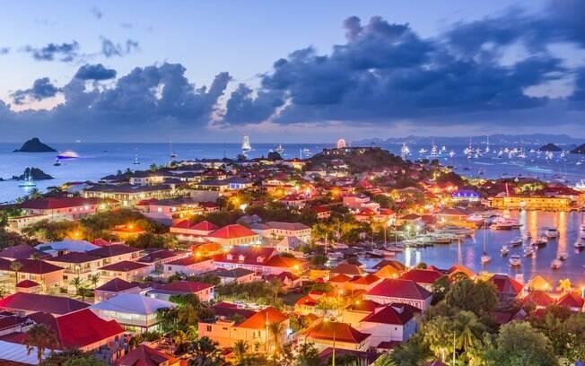 Saint Barth, ilha no Caribe
