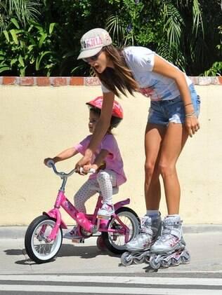 Alessandra Ambrosio e a filha, Anja