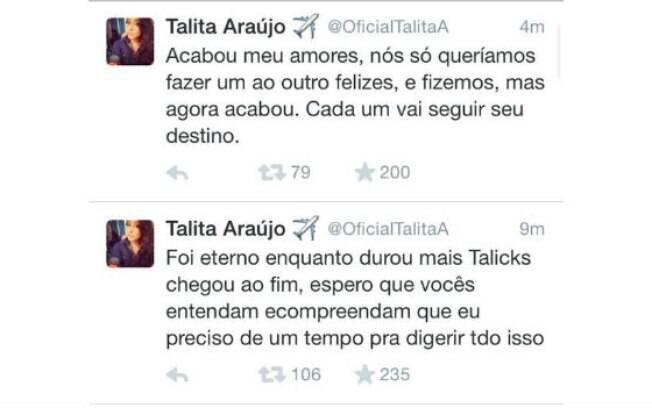 Talita fala sobre fim de relacionamento com ex-BBB: