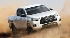 Toyota mostra Hilux GR-Sport, que chegará ao Brasil em 2022