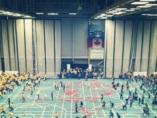Partidas serão realizadas no ginásio da faculdade de Alberta, em Edmonton, cidade canadense