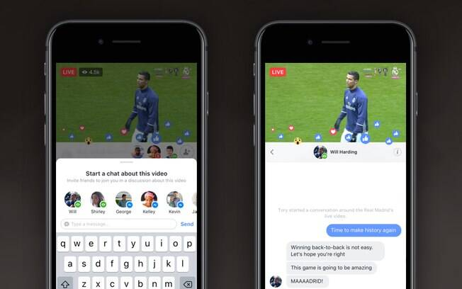 Facebook anuncia dois novos recursos para suas lives em vídeo