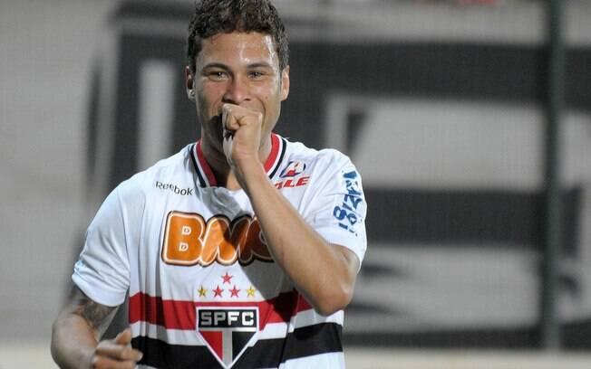 Lionel Marlos: no auge da empolgação, torcida  do São Paulo aproveitou a semelhança entre os  nomes par aassociar o meia Marlos a Messi