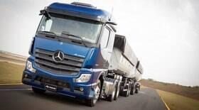 Caminhão da Mercedes vem mais equipado que carros de luxo