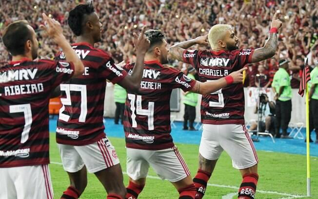 Flmengo massacrou o Grêmio na semifinal da Libertadores