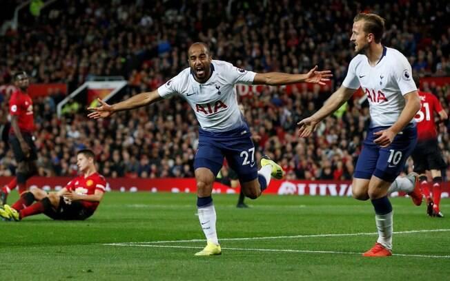 Lucas Moura faz grande temporada pelo Tottenham