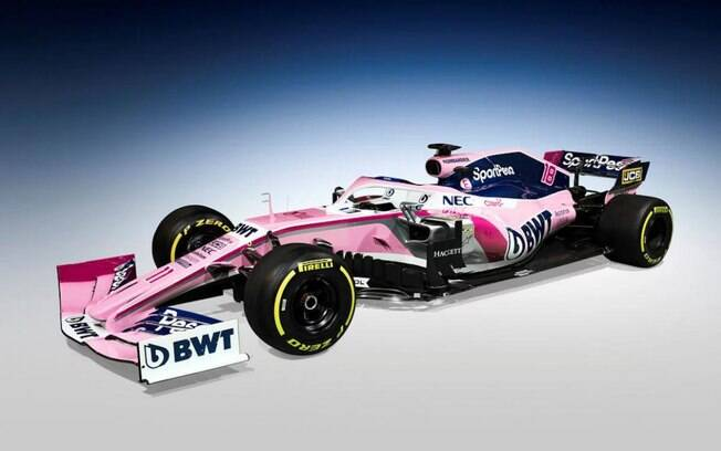 Em sua estreia na Fórmula 1, a Racing Point anunciou seu novo carro