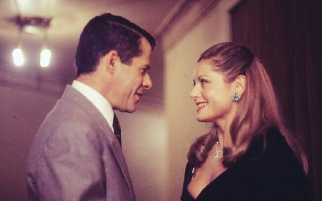 José Mayer e Vera Fischer em cena de