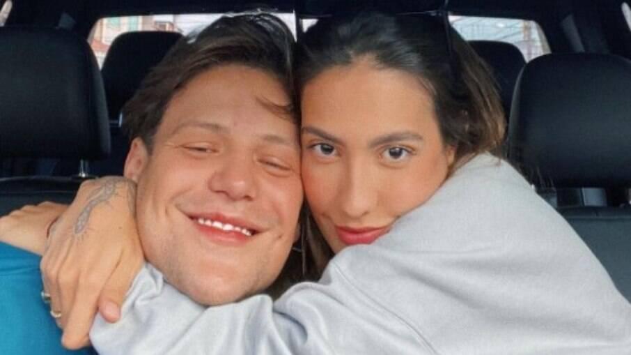 Gabi Brandt e Saulo Poncio