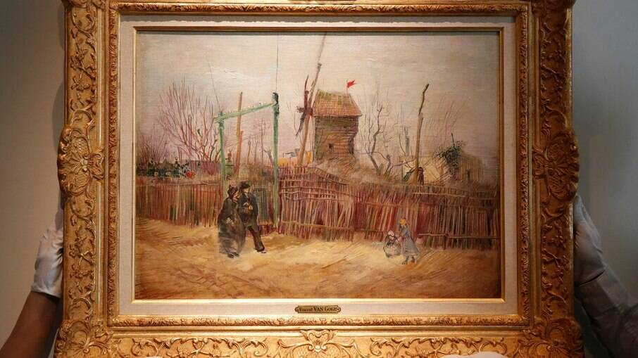 A pintura será exibida depois de um século guardada