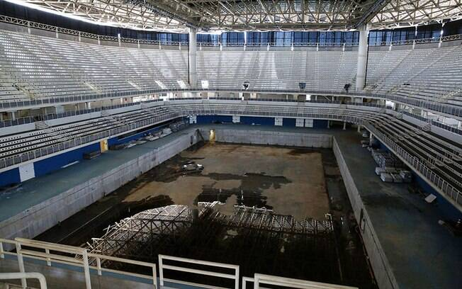 Arena do Rio 2016, totalmente abandonada