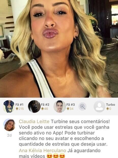 Cantora lançou seu próprio aplicativo para estreitar relação com os fãs