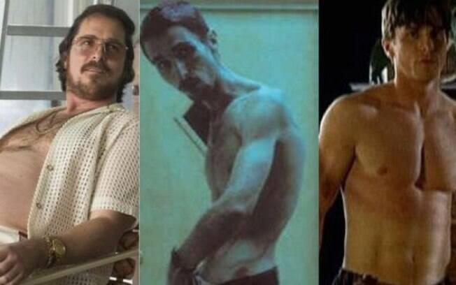Christian Bale e suas famosas e intensas transformações físicas