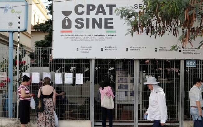 Campinas começa a semana com 69 vagas de emprego no Cpat