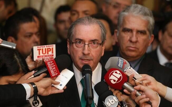 Eduardo Cunha anunciou sua renúncia à Presidência da Câmara no início do mês de julho