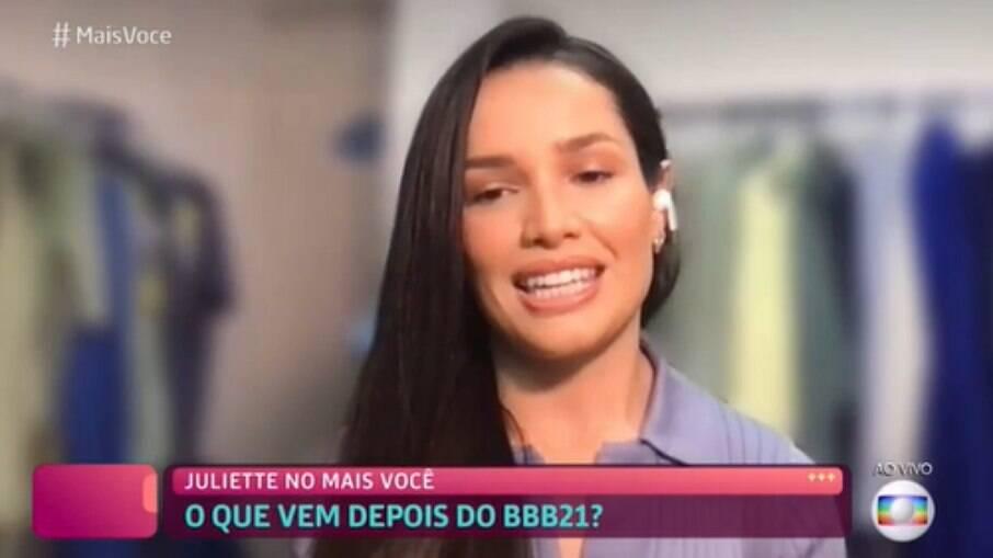 Juliette é a nova embaixadora Globoplay