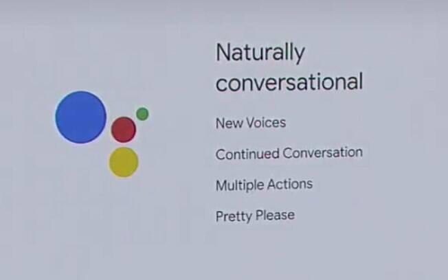 Implementações feitas na assistente pessoal do Google era sustentadas em quatro pilares: novas vozes, conversas mais fluídas, ordens múltiplas e comunicação não-violenta