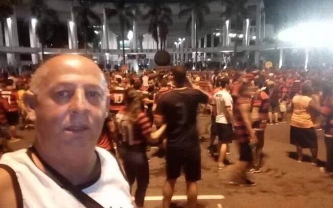 Torcedor do Flamengo