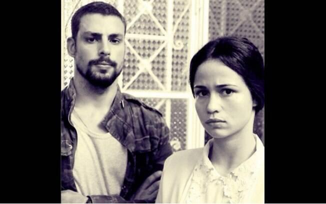 Cauã Reymond e Nanda Costa contracenam em 'O Caçador'