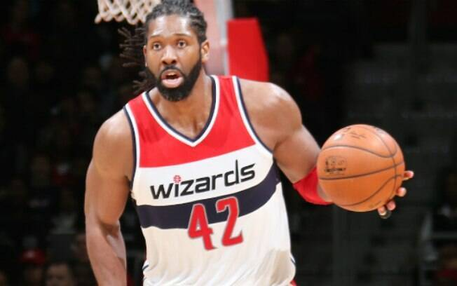 Nenê Hilário: o pivô do Washington Wizards também ficará fora do Pan de Toronto a pedido do time. Foto: Getty Images