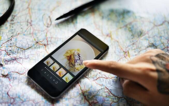 Os aplicativos para editar fotos permitem que você dê um enquadramento melhor ou modifique o brilho das imagens
