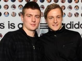 Kroos, do Real Madrid, e seu irmão Felix, do alemão Werder Bremen