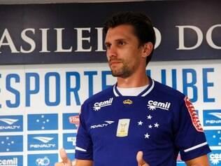 Paulo André deverá fazer sua estreia com a camisa celeste neste sábado, contra o Boa Esporte