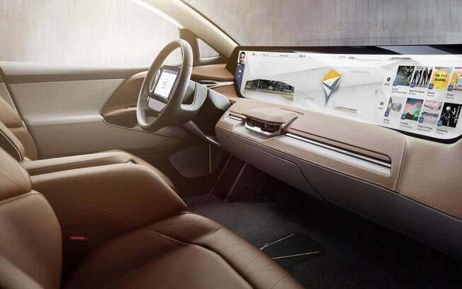 SUV Byton deve chegar às lojas pelo valor de US$ 45 mil