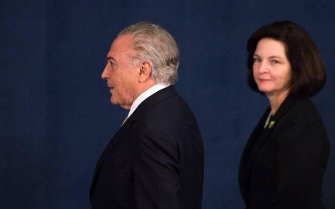 Chefe da Procuradoria-Geral da República (PGR), Raquel Dodge defendeu mais tempo para investigar Temer no STF