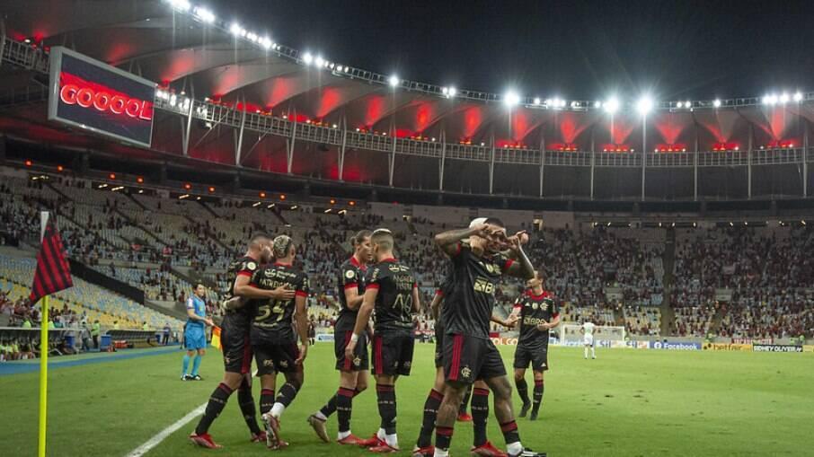 Com show de Andreas Pereira, Flamengo vence com tranquilidade o Juventude