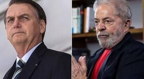 Lula toma frente de Bolsonaro em pesquisa sobre intenções de voto