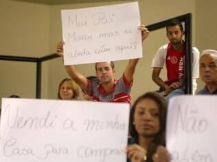 Cidades - Belo Horizonte - MG Votacao na camara de projeto de lei que regulamenta as outorgas de taxis acompanhada por taxistas  FOTO: FERNANDA CARVALHO / O TEMPO - 02.06.2014