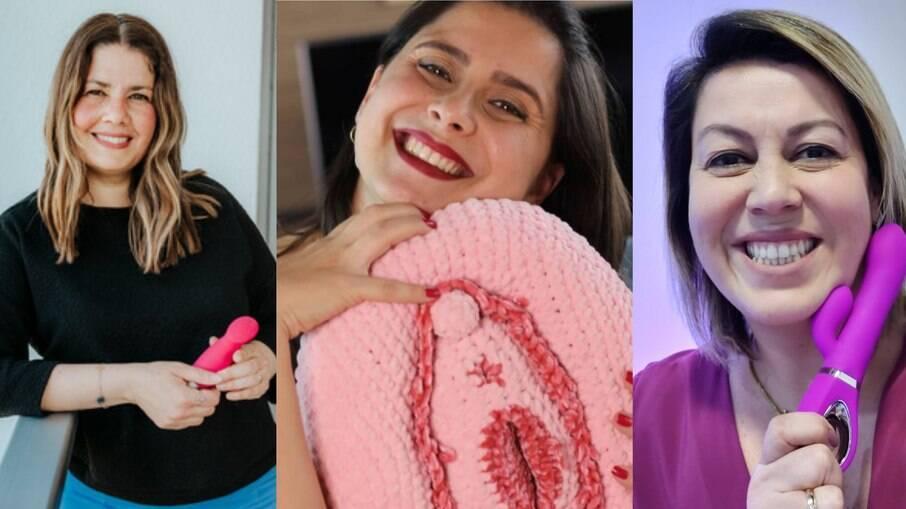 Clarisse Och, Natali Gutierrez e Camila Gentile