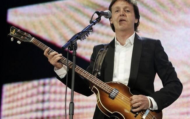 Paul McCartney: ex-Beatle chegou a dizer que  torce por Everton e Liverpool. Mas o Everton é o  time de sua família