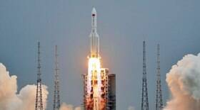 China garante que foguete desgovernado não vai causar danos