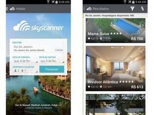 Disponível para iOS e agora também para Android, Skyscanner Hoteis Baratos é uma aplicativo para usuários procurarem a melhor acomodação para as suas viagens
