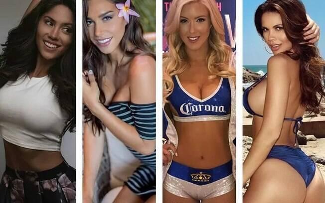 Kyra Keli, Tawny Jordan, Jessica Harbour, e Samantha Kumiko  são as ring girls para a luta mais aguardada do ano