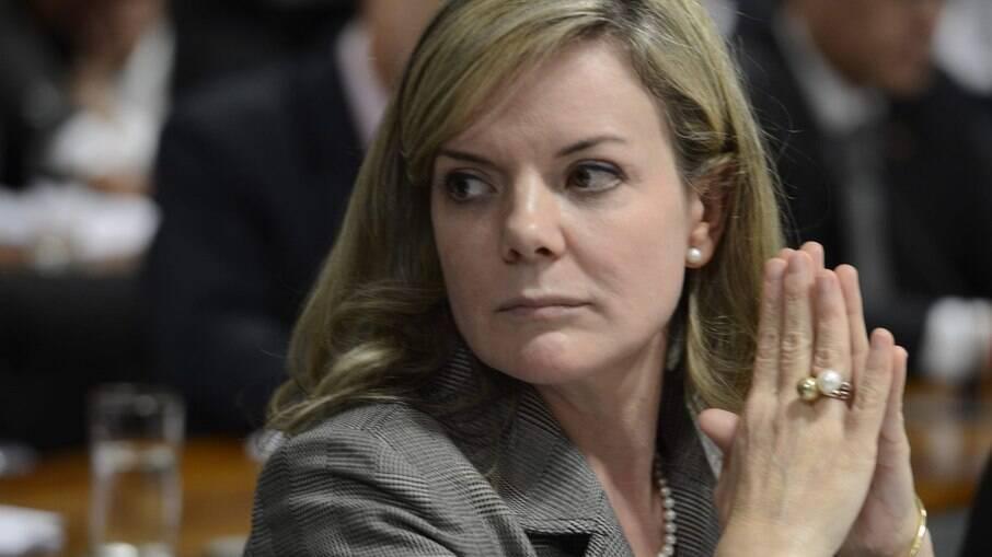 Presidente Nacional do PT, Gleisi Hoffmann