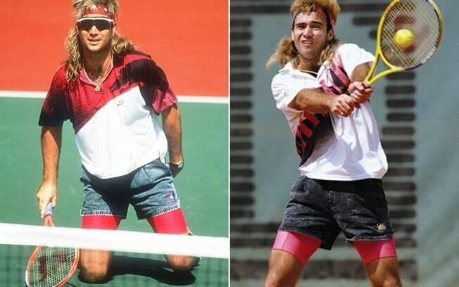 Andre Agassi, assim como Serena Williams, desafiou os padrões do tênis