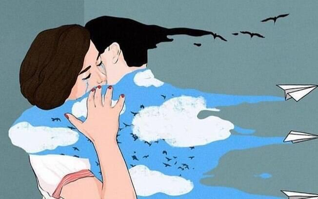 Cauã Reymond compatilhou outro desenho em que marcou sua namorada e surpreende seguidores da rede social