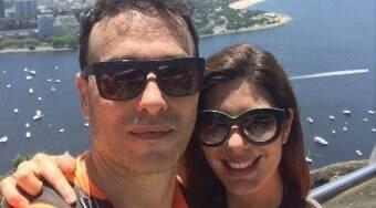 Não vamos nos separar jamais, diz Andreia Sadi sobre André Rizek
