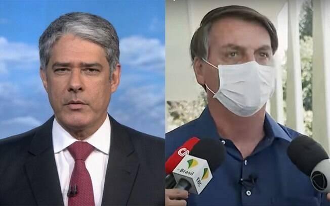 Jornal Nacional não exibe comunicado de Bolsonaro