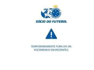Site Sócio do Futebol permanece instável também nesta manhã de sexta-feira