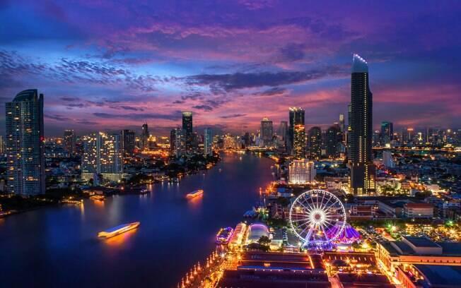 Lugares para viajar em janeiro: Bangcoc concentra um pouco de tudo em um só lugar