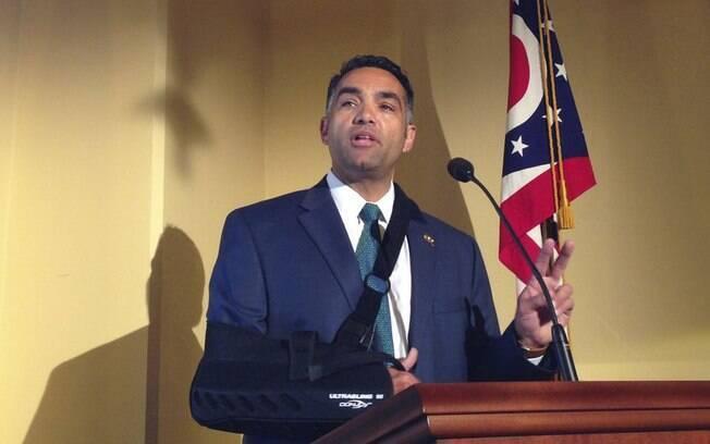 O deputado estadual, Nino Vitale, representa o 85º Distrito de Ohio